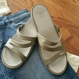 "CROCS  ""Swiftwater"" Sandals"